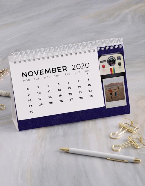 christmas: Personalised Polaroid Desk Calendar!
