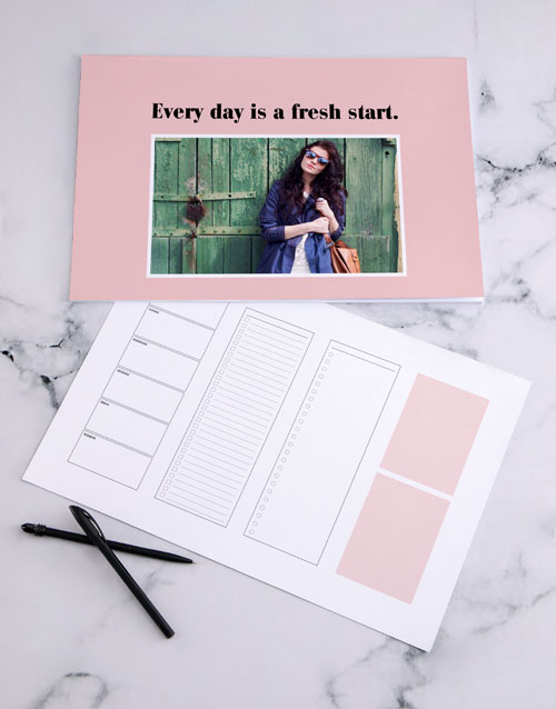 whats-new: Personalised Fresh Start Desk Pad!