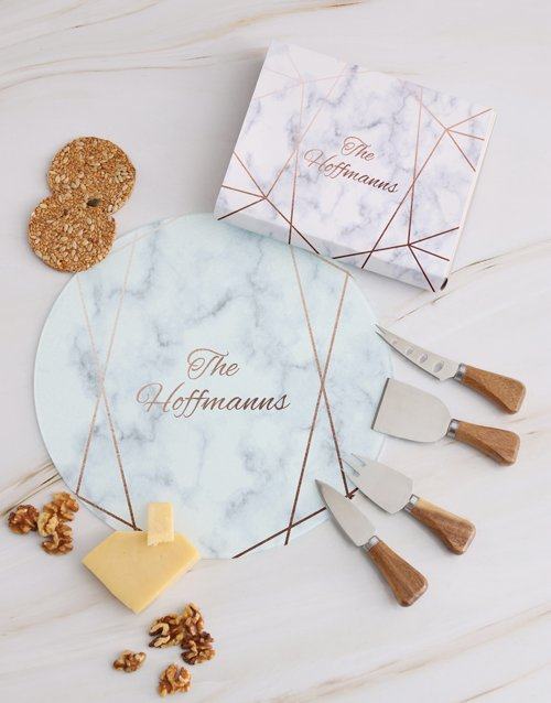 homeware: Personalised Family Cheese Knives!