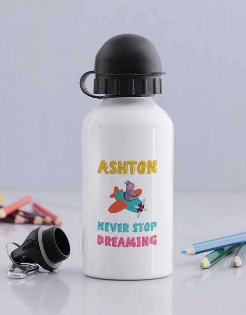personalised: Personalised Keep Dreaming Bottle!