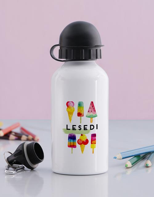 personalised: Personalised Ice Cream Bottle !