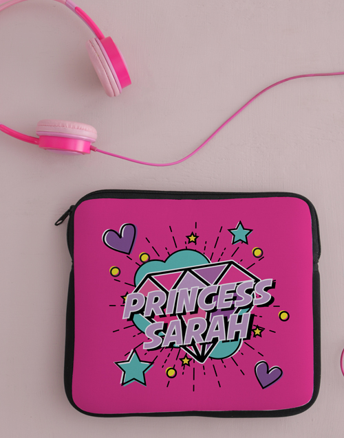 personalised: Personalised Princess Tablet Cover !