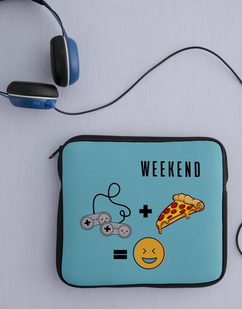 personalised: Personalised Weekend Tablet Cover!
