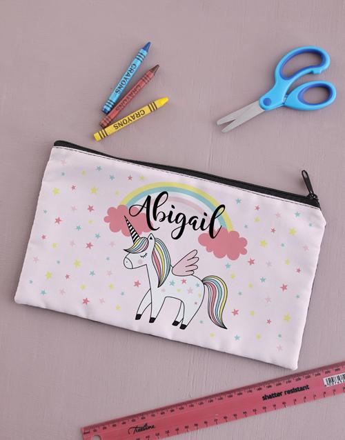 kids: Personalised Cloud Pencil Bag!