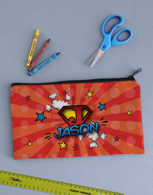 christmas: Personalised Super Pencil Bag !