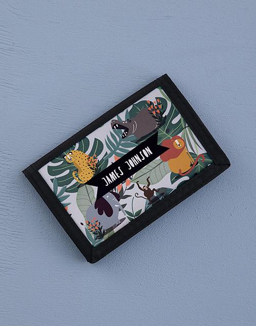 personalised: Personalised Jungle Joy Wallet!