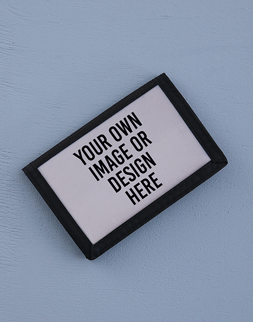personalised: Personalised Own Design Wallet!