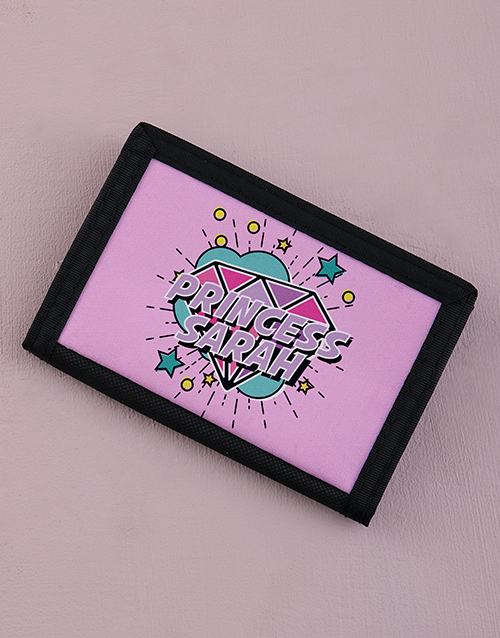 personalised: Personalised Rock Princess Wallet!