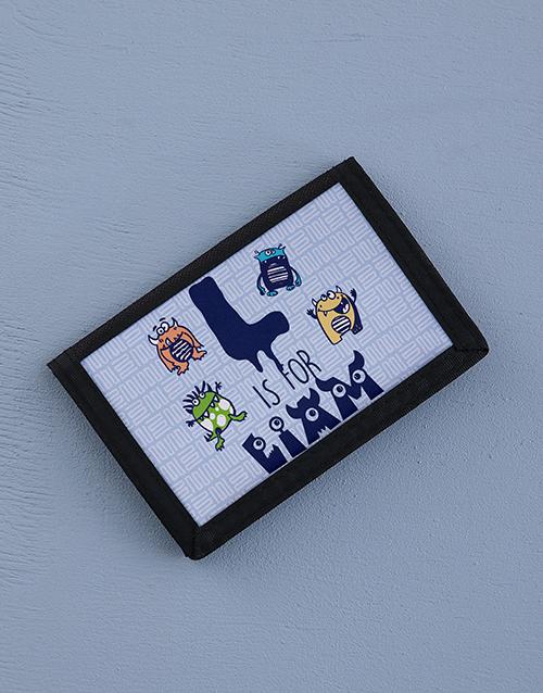 personalised: Personalised Monster Mania Wallet!