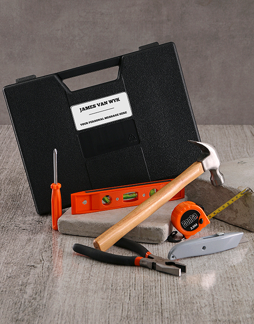 gifts: Personalised 6 Piece Tool Set!