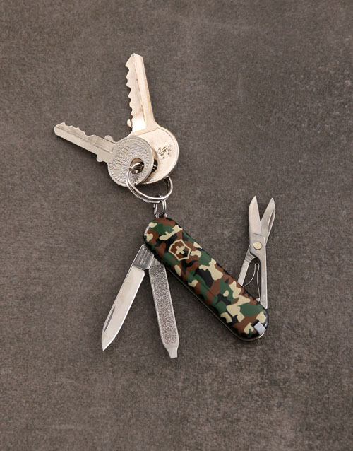 christmas: Personalised Swiss Army Classic Camo!