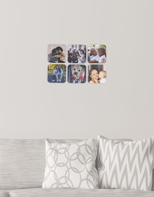 mothers-day: Personalised Square Multi Photo Blocks!