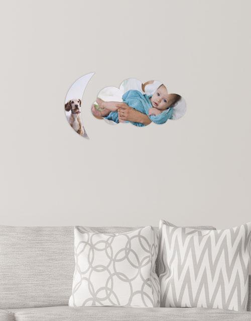 birthday: Personalised Cloud Moon Multi Photo Blocks!