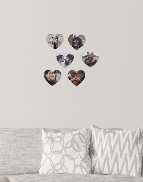 birthday: Personalised Heart Multi Photo Blocks!