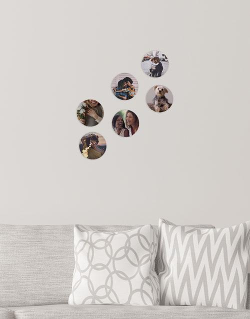 birthday: Personalised Circle Multi Photo Blocks!