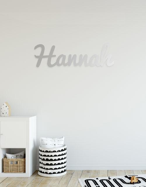 baby: Personalised Name Mirror!