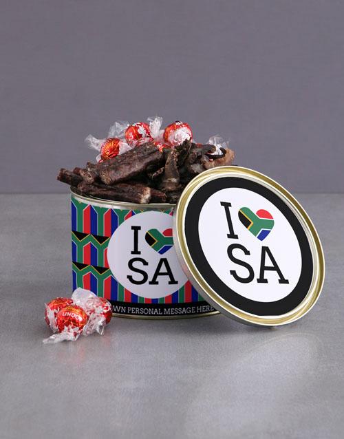 gourmet: Personalised Heritage Day Biltong Tin!