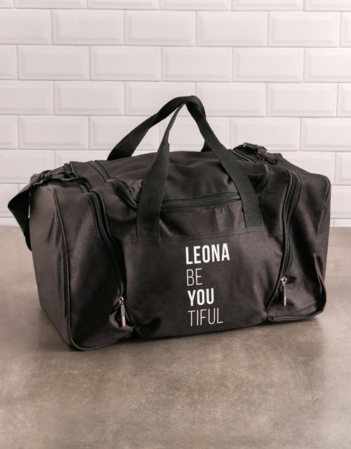 activewear: Personalised Be You Gym Bag!