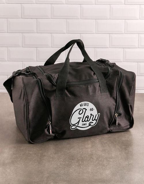 activewear: Personalised Alpha Dog Gym Bag!