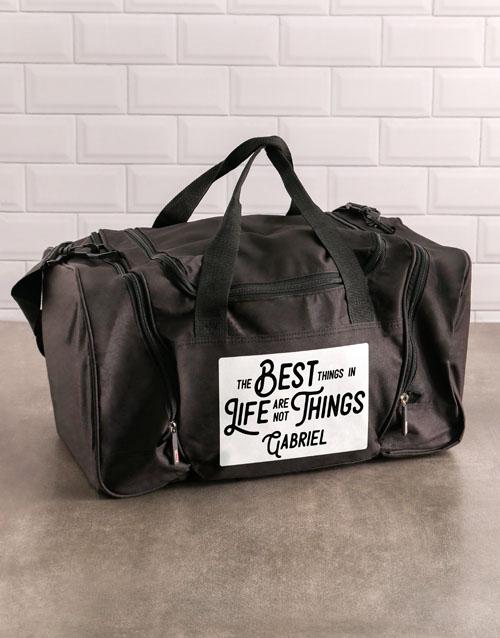 activewear: Personalised The Best Things Gym Bag!