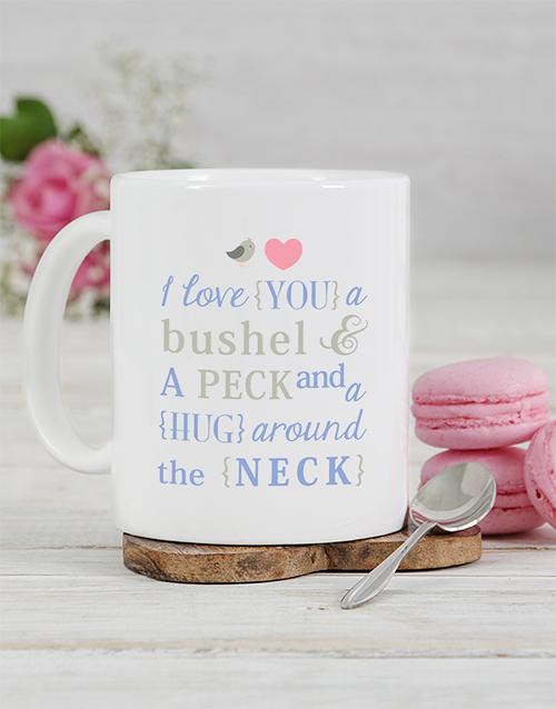 homeware: Personalised Neck Hug Mug!