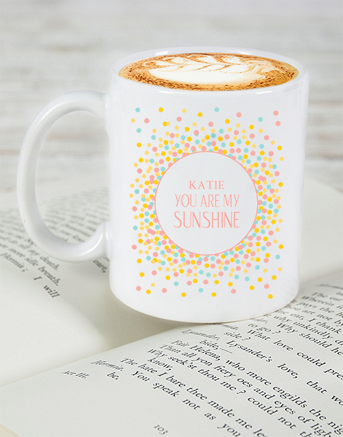 homeware: Personalised My Sunshine Mug!
