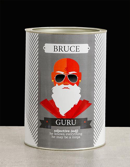 christmas: Personalised Guru Bro Bucket!