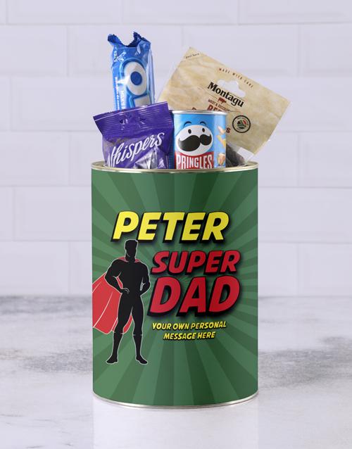 gourmet: Personalised Superhero Father Bro Bucket!