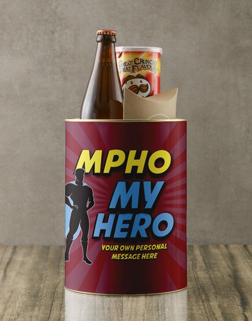 gourmet: Personalised Super My Hero Bro Bucket!