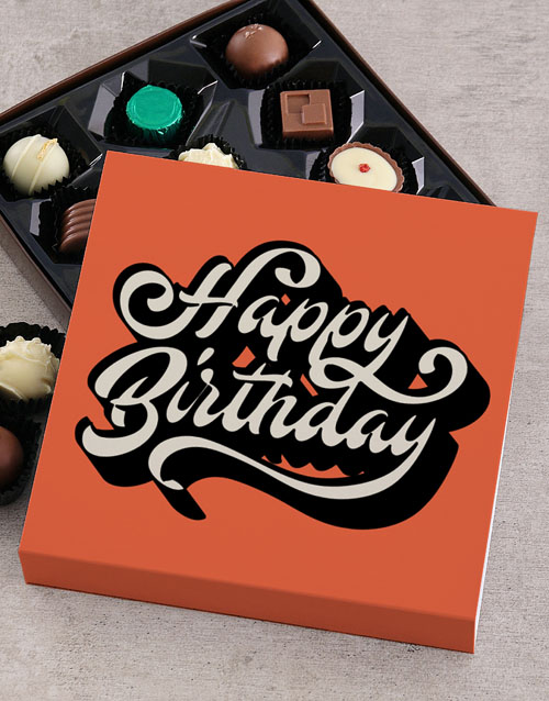 birthday: Personalised Birthday Delights Chocolate Tray!