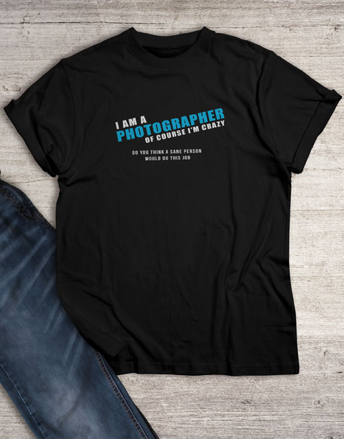 personalised: Personalised Sanity T Shirt !
