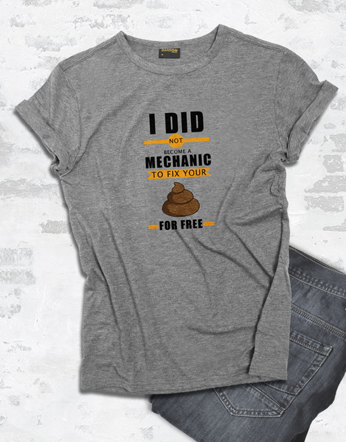 personalised: Personalised Fix It For Free T Shirt!