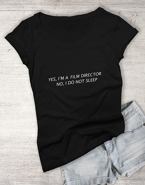 personalised: Personalised Too Busy To Sleep Ladies T Shirt!