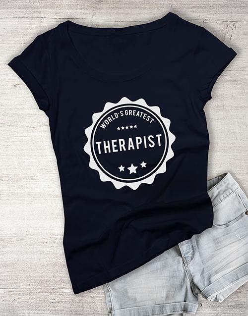 personalised: Personalised Worlds Greatest Ladies T Shirt!