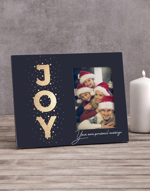 christmas: Personalised Joy Photo Frame!