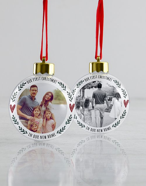 christmas: Personalised In Our Home Baubles!