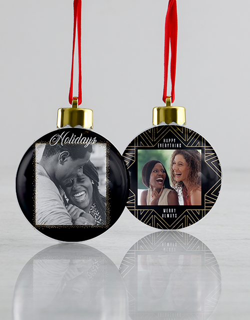 christmas: Personalised Merry Always Baubles !