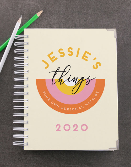 christmas: Personalised Daily Things Diary!