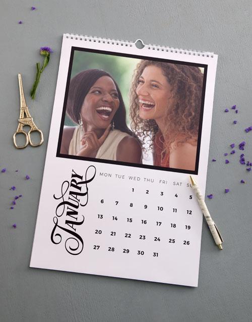 personalised: Personalised Photo Wall Calendar!