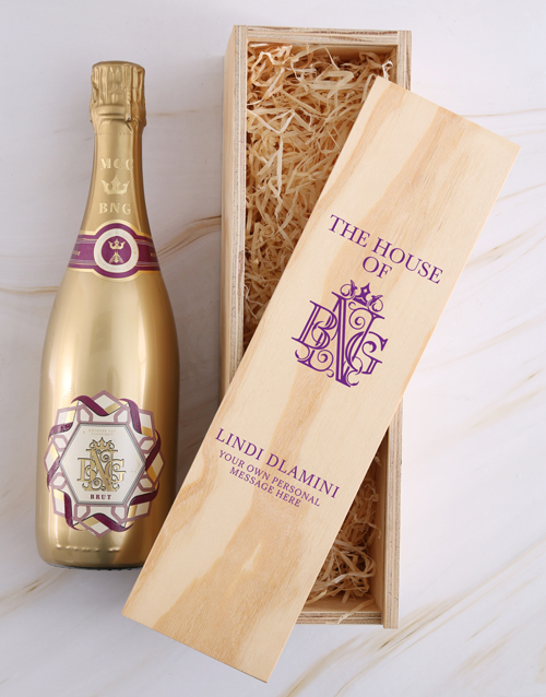 christmas: Personalised House of BNG Brut Crate!