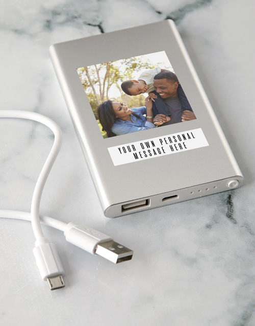 valentines-day: Personalised Photo Power Bank!