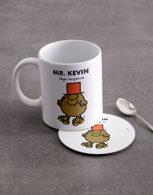 homeware: Personalised Mister Silly Mug And Coaster!