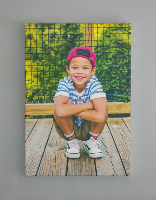mothers-day: Personalised Large Canvas Set Of Four!