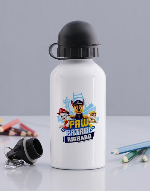 personalised: Personalised Paw Patrol Pups Water Bottle!