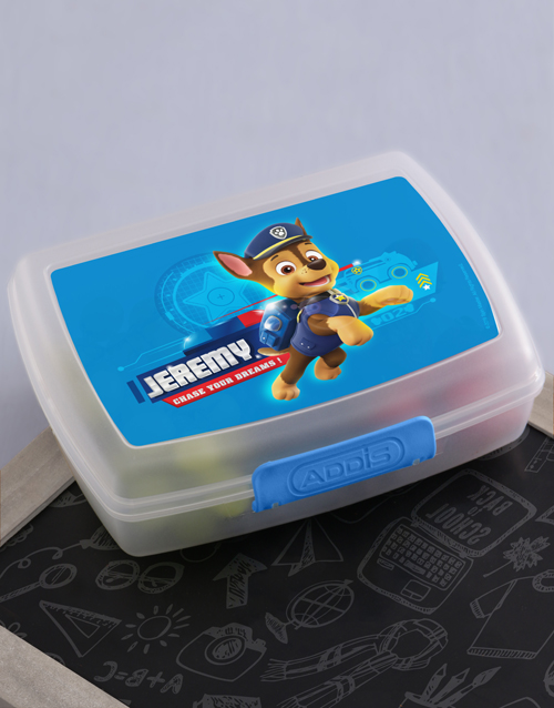 kids: Personalised Dream Chaser Lunchbox!