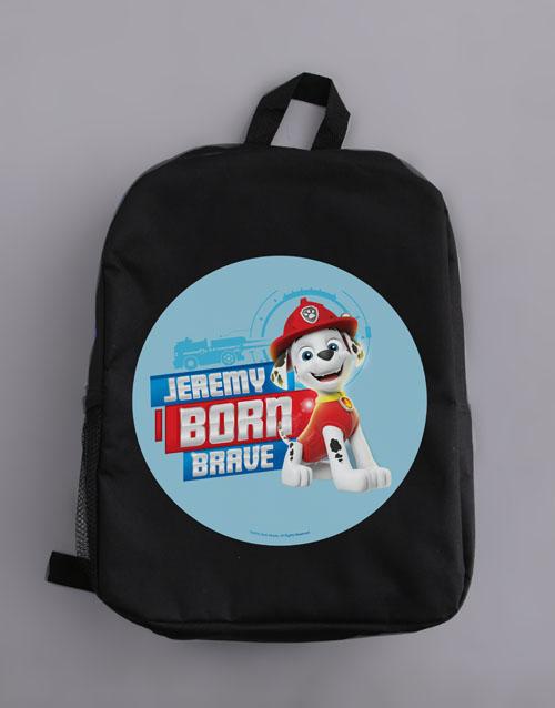 kids: Personalised Born Brave Backpack!