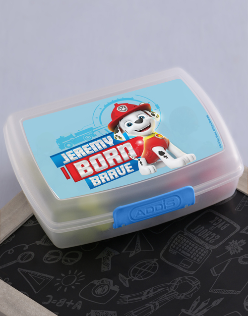 kids: Personalised Born Brave Lunchbox!