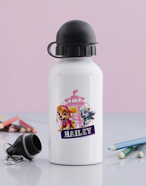 kids: Personalised Skye Pup Water Bottle!