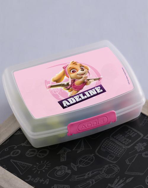 kids: Personalised Skye Pup Lunchbox!