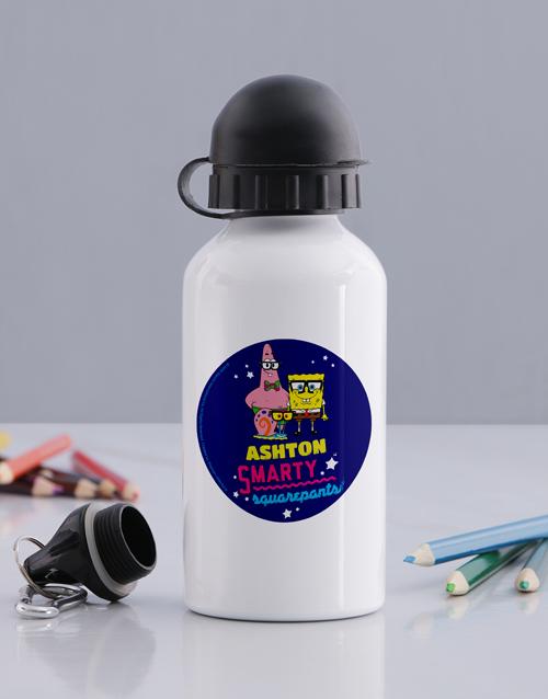 personalised: Personalised SquarePants Water Bottle!